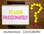 conceptual hand writing showing ... | Shutterstock . vector #1214138392