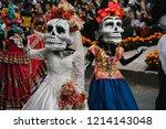 mexico city   mexico   27... | Shutterstock . vector #1214143048