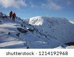 Walkers On Striding Edge. Two...