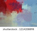 2d illustration. artistic... | Shutterstock . vector #1214208898