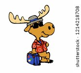 Moose Tourist   Hipster Moose...