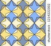 geometric seamless pattern....   Shutterstock .eps vector #1214222302