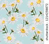 vector seamless pattern with... | Shutterstock .eps vector #1214258872