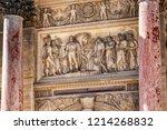 corinthian style paris... | Shutterstock . vector #1214268832