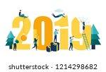 vector illustration small... | Shutterstock .eps vector #1214298682