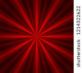 abstract starburst red... | Shutterstock . vector #1214322622