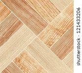 texture of fine brown parquet   Shutterstock . vector #121433206