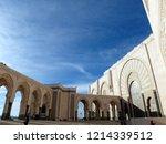 the beautiful building of... | Shutterstock . vector #1214339512