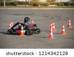 go kart competitions  go kart... | Shutterstock . vector #1214342128
