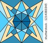 geometric seamless pattern....   Shutterstock .eps vector #1214383345