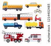 public urban transport for the... | Shutterstock .eps vector #1214402485