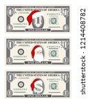 design template one dollar...   Shutterstock .eps vector #1214408782