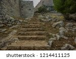 Stone Stairs In Destroyed Ruins ...