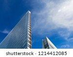 modern glass buildings office ... | Shutterstock . vector #1214412085