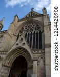 st. albans cathedral.... | Shutterstock . vector #1214420908
