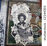 Постер, плакат: old Jimi Hendrix poster