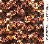 seamless sequins texture... | Shutterstock . vector #1214443078