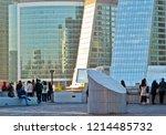 moscow  russia   october 13 ... | Shutterstock . vector #1214485732