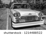 brooklyn   jun 12  checker taxi ... | Shutterstock . vector #1214488522