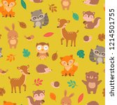 Cute Woodland Animals With...