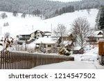 winter in schwarzwald. the...   Shutterstock . vector #1214547502
