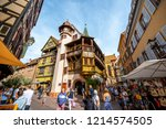 colmar  france   september 10 ... | Shutterstock . vector #1214574505