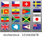 flags of all countries of the... | Shutterstock .eps vector #1214620678