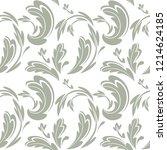 floral seamless pattern   Shutterstock .eps vector #1214624185