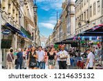 lisbon  portugal   june 28 ... | Shutterstock . vector #1214635132