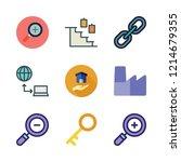 building icon set. vector set... | Shutterstock .eps vector #1214679355