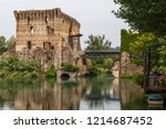 medieval fortifications of... | Shutterstock . vector #1214687452