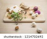 cheese  garlic  onion  walnuts...