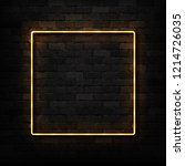 vector realistic isolated neon... | Shutterstock .eps vector #1214726035
