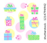 vector illustration  colorful... | Shutterstock .eps vector #1214794942