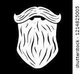 vector hand drawn typography...   Shutterstock .eps vector #1214825005