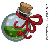 green potion icon. cartoon of...   Shutterstock .eps vector #1214852515