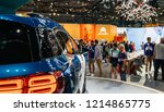 paris  france   oct 4  2018 ... | Shutterstock . vector #1214865775