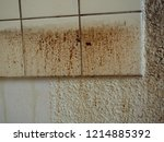 grease spots and dirt stains on ... | Shutterstock . vector #1214885392