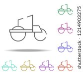 asphalt compactor icon....   Shutterstock .eps vector #1214903275