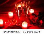 valentines day celebration ... | Shutterstock . vector #1214914675