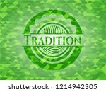 tradition realistic green... | Shutterstock .eps vector #1214942305