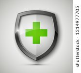 medical health protection... | Shutterstock .eps vector #1214977705