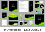 corporate identity set.... | Shutterstock .eps vector #1215005635