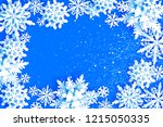 merry christmas and happy new... | Shutterstock . vector #1215050335