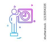 business icon design vector  | Shutterstock .eps vector #1215054235