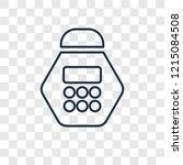 calendar concept vector linear...