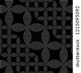 seamless black and white...   Shutterstock .eps vector #1215095092