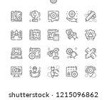 engineering well crafted pixel... | Shutterstock .eps vector #1215096862