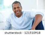 image of young african man... | Shutterstock . vector #121510918
