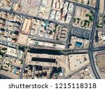 aerial view of the urban... | Shutterstock . vector #1215118318